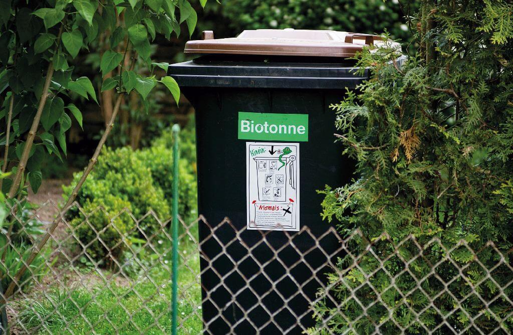 Kompostierbare Kunststoffbeutel