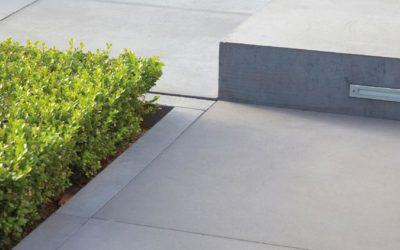 Gartengestaltung mit Beton