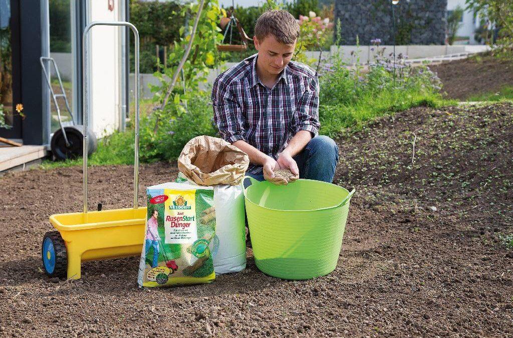 Neuer Rasen leicht gemacht