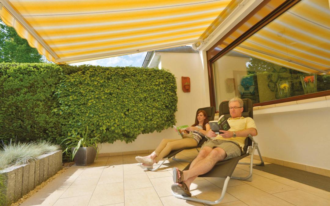 Sonnenschutz – Ungestört Entspannen
